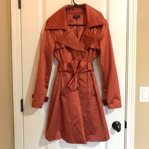 bebe Jackets & Blazers - Bebe - orange trench coat