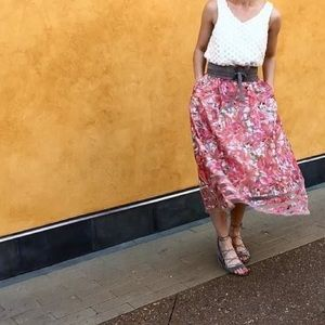 Anthropologie Dresses & Skirts - Anthropologie Strawberry Hill Skirt