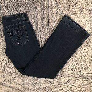 7 For All Mankind Denim - 7 for all mankind flared dojo jeans