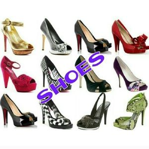 Shoes - Check out my shoe sale .