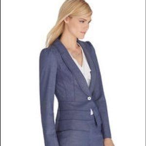 White House Black Market Jackets & Blazers - WHBM Super cute blue suit blazer