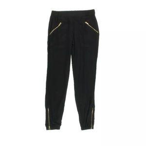 NEW XOXO black rayon joggers -S