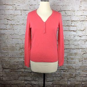 Alex Marie Sweaters - NWT $89 Alex Marie 100% cashmere pink sweater S