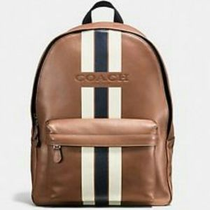Coach Charles leather back pack