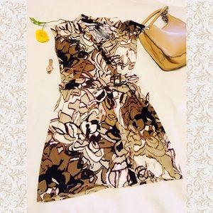 Dana Buchman Dresses & Skirts - Dana Buchman - Gypset Journey Floral Wrap Dress
