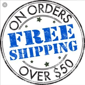 SPEND $50 AND GET FREE SHIPPING. It's THAT simple!