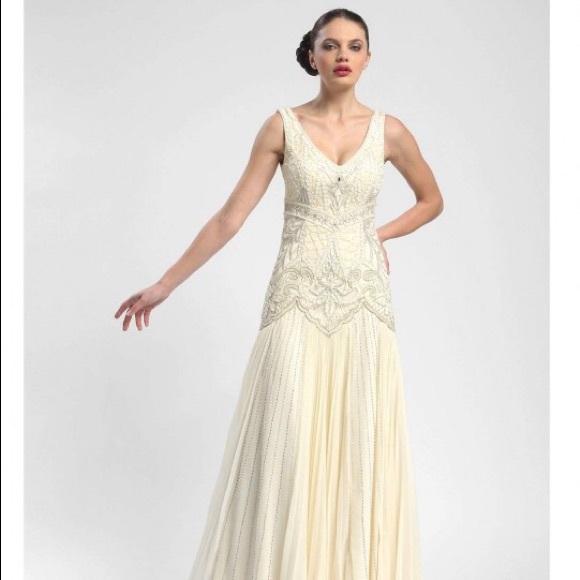 Sue Wong Art Deco Wedding Gown