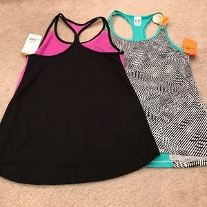 Champion Tops - 2 brand new Champion duo dry workout tanks