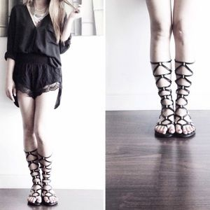 Fergie Shoes - Fergie gladiators