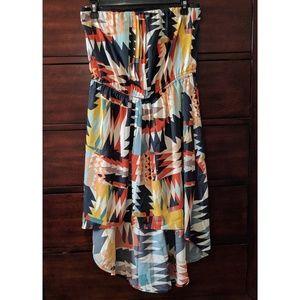Trixxi Dresses & Skirts - Trixxi High Low Strapless Dress
