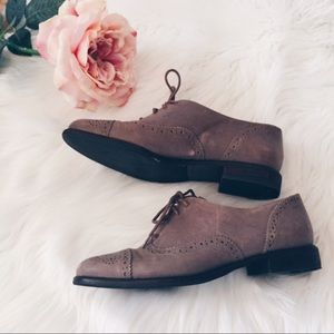 Enzo Angiolini Oxford Leather Lace Shoes 5.5