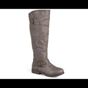 Journee Collection Shoes - Journee Collection Extra Wide Riding Boots