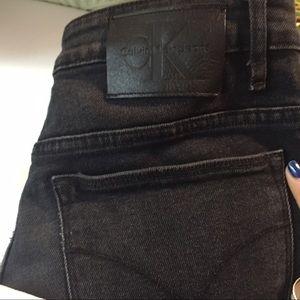 Calvin Klein size 30 high rise straight leg jeans