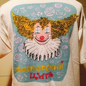 Vintage Moscow Circus Tee