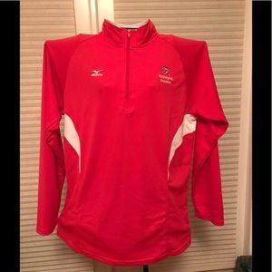Mizuno Tops - 💰SALE🔥XL Mizuno DriLite Half zip USA Volleyball