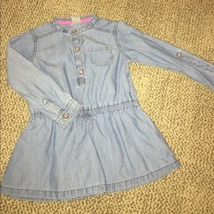 Carter's Other - Adorable denim like dress