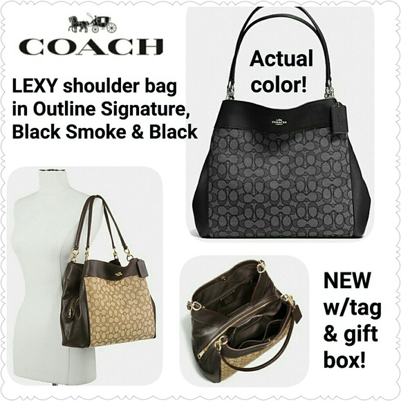 SOLD   NEW Coach Lexy Shoulder bag bbbcc1e807df0