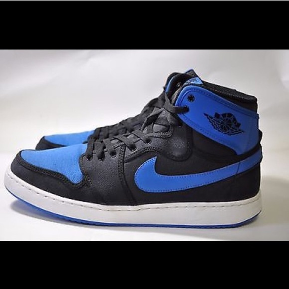 the latest 83b96 a147a NIKE AIR JORDAN CANVAS MENS BLUE SNEAKER SHOES. M 58fee80ac6c795e01601ddf2
