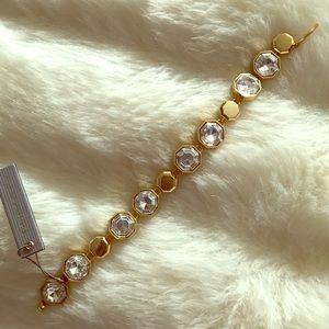 Louise et Cie Jewelry - Louise et Cie Octagonal Link Bracelet
