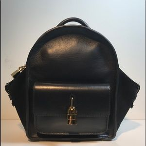 Buscemi Handbags - Buscemi Mini Leather Backpack Black Leather