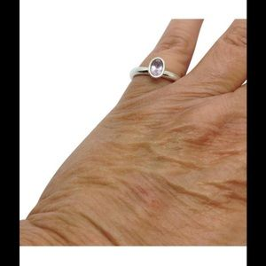 Pandora Jewelry - Pandora Sterling silver amethyst stacking ring