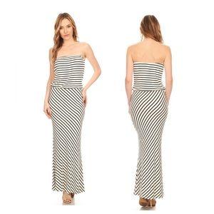 Dresses & Skirts - Rayon Stripe Rib Tube Subugi
