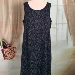 Karin Stevens Dresses & Skirts - Karin Stevens Blue Sleeveless Maxi Dress