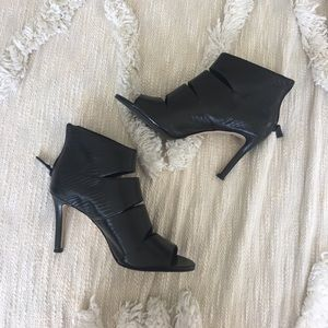 // Cole Haan Black Bootie //