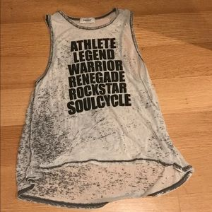 Tops - SoulCycle Mantra Tank Size Medium