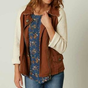Buckle Tops - BRAND NEW GIMMICKS CANVAS JACKET