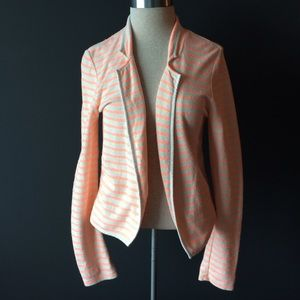 Maison Scotch Jackets & Blazers - Maison Scotch orange & white casual spring blazer