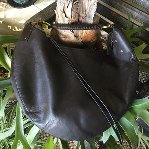 Gucci Handbags - Vintage Auth Gucci Leather Hobo Whipstitch