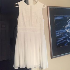 ASOS Dresses & Skirts - White Asos Skater Dress!