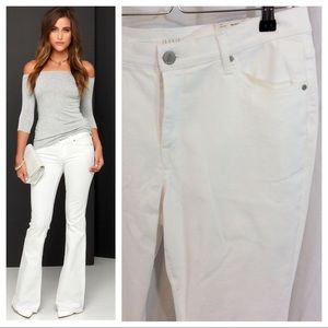 Denim - NWT - White Flare Jeans