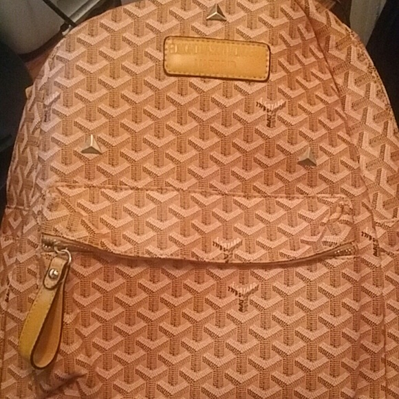 Bags Goyard Backpack Edmond Masion Monogram Poshmark