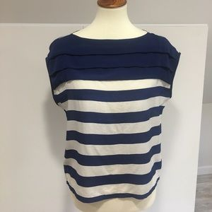 Sparkle & Fade Tops - Stripped Blouse