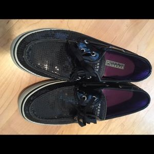 Sperry Top-Sider Shoes - Sequence black sperrys