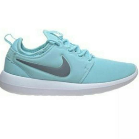 1db2c9cc2fc70 Rare Nike Roshe Two Tiffany Blue Copa Cool Grey. M 58ff4db413302acd31002bfe