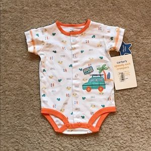 Carter's Other - New Carters suit size new born.