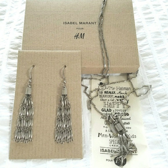 4f8f893681 Isabel Marant Jewelry - Isabel Marant pour H&M necklace and earrings