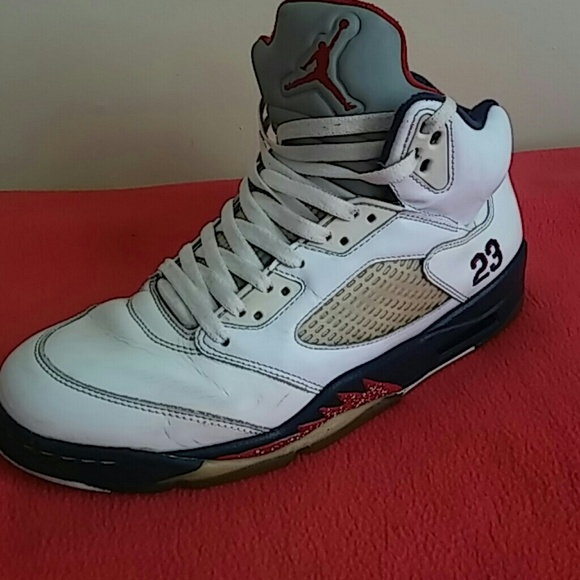 d0465bb5a51c SALE.Nike Air Jordan 5 Retro olympic Indepdnce Day