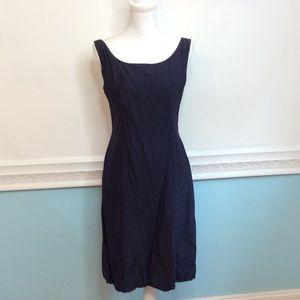 Vintage Dresses & Skirts - VINTAGE Stephen O'Grady Navy Dress