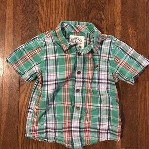 Osh Kosh Other - Short sleeve lightweight button up shirt
