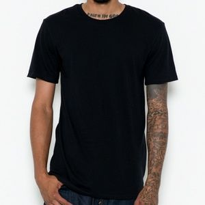 Other - Extended tee shirt black