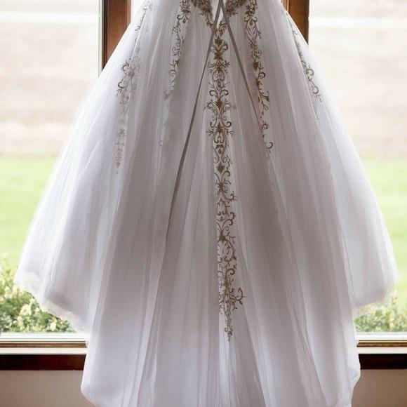 Dresses | Beautiful Custom Corset Ball Gown Wedding Dress | Poshmark