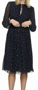 Whistles Dresses & Skirts - Whistles Square Spot Midi Dress