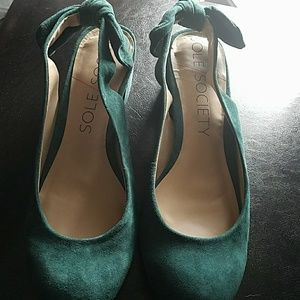 Sole Society Shoes - Sole Society Bow Tie flats