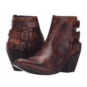 Old Gringo Shoes - OLD GRINGO Leather Booties Intricate Ankle Shoes
