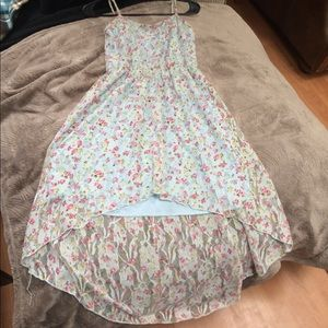 DEBS high low floral dress