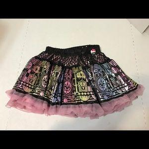 monster high Other - Monster High Girls Size 6 Skirt Used